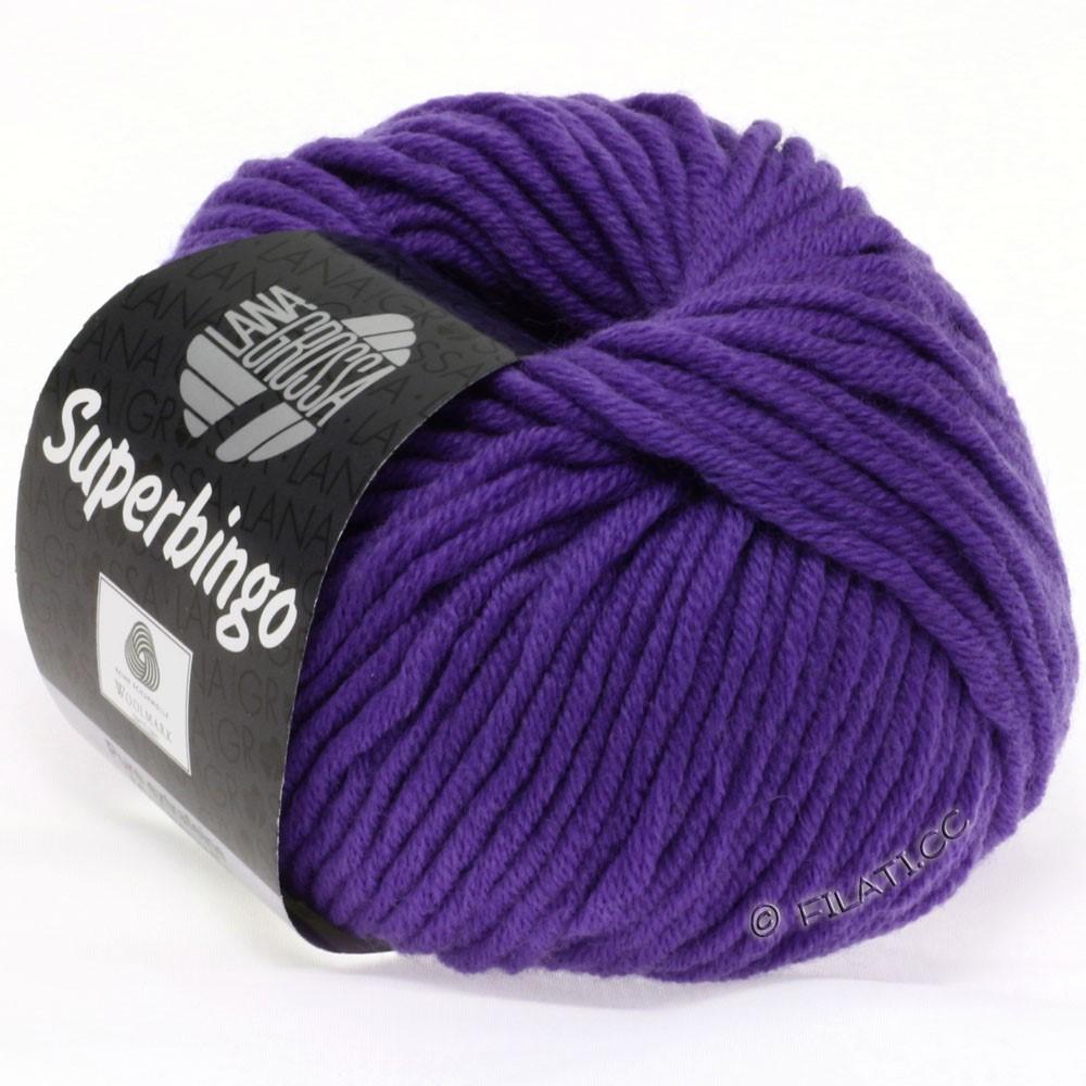 Lana Grossa SUPERBINGO | 031-blå violet