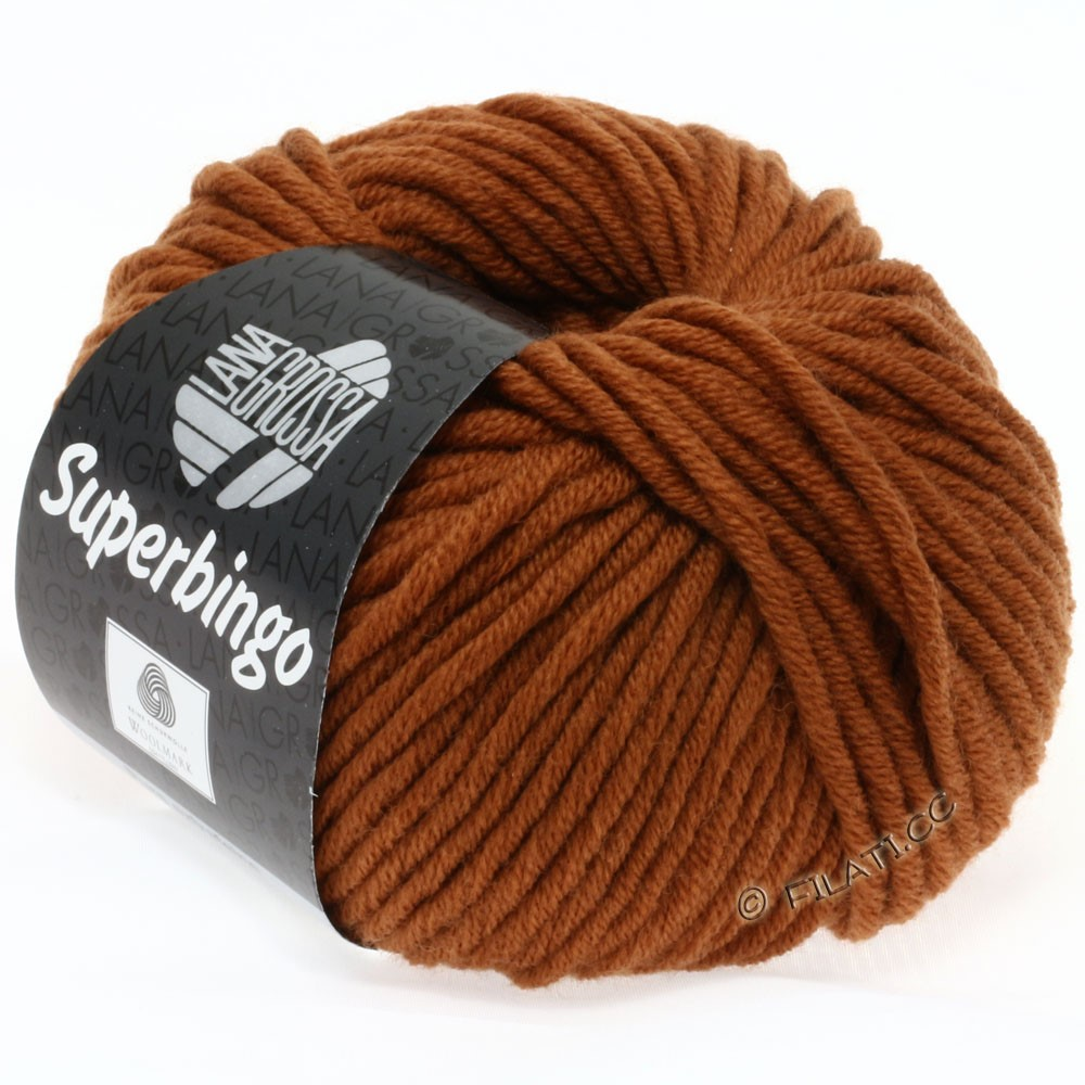 Lana Grossa SUPERBINGO   035-brun