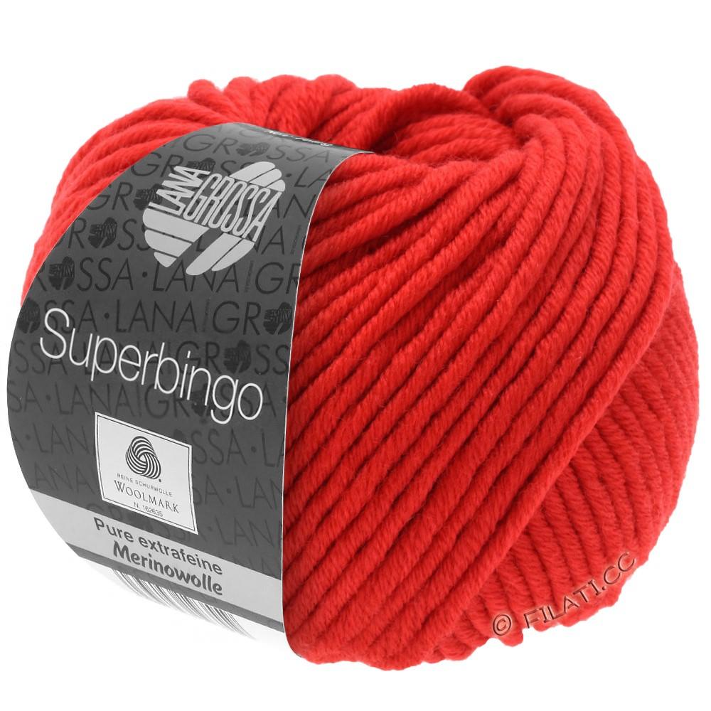 Lana Grossa SUPERBINGO | 042-sukkerroer rød