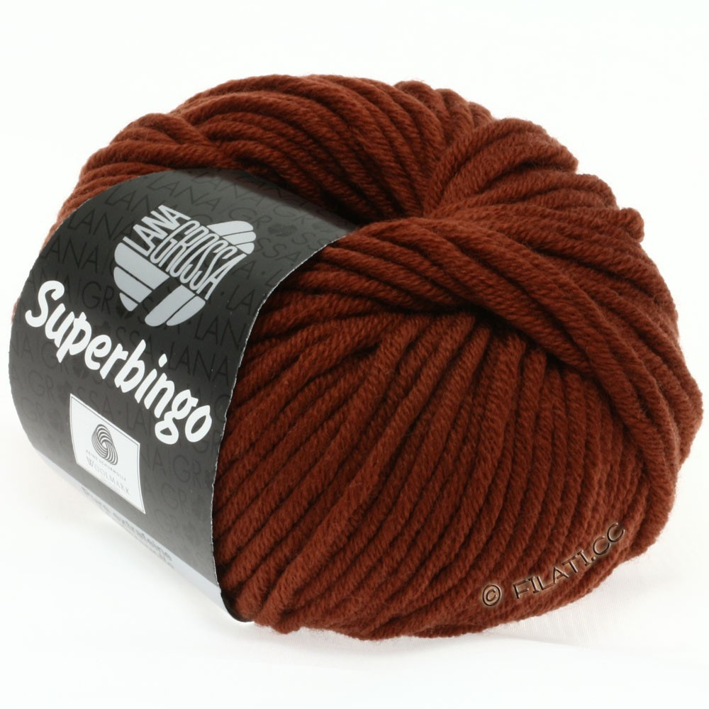 Lana Grossa SUPERBINGO | 048-rødbrun