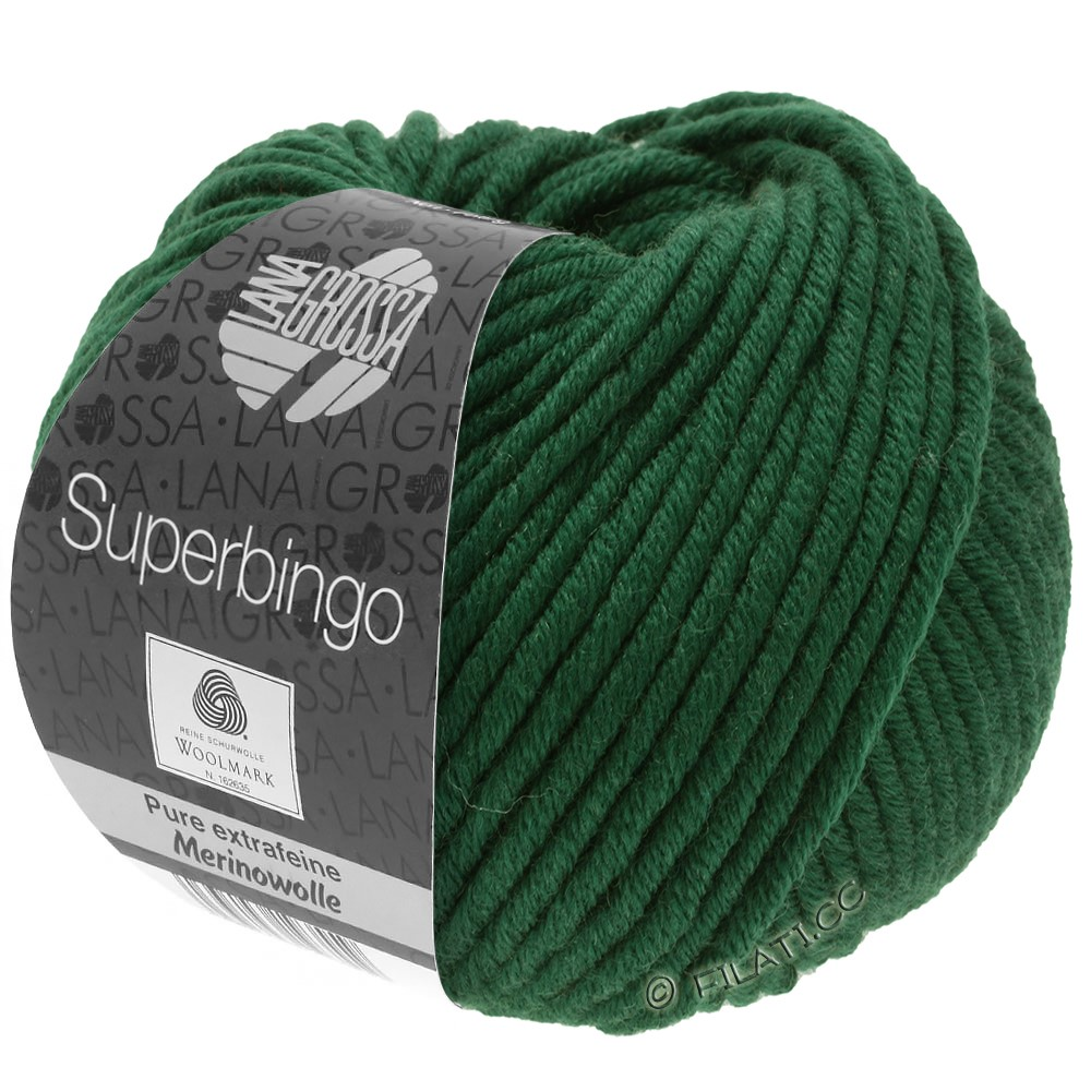 Lana Grossa SUPERBINGO | 057-flaske grøn