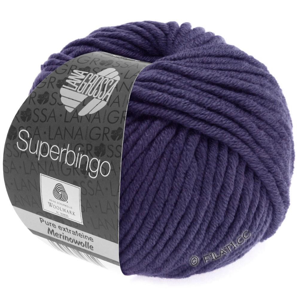 Lana Grossa SUPERBINGO | 065-mørk violet