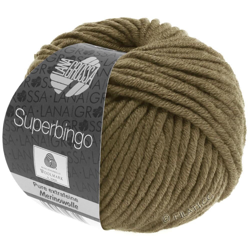 Lana Grossa SUPERBINGO | 070-olivenbrun