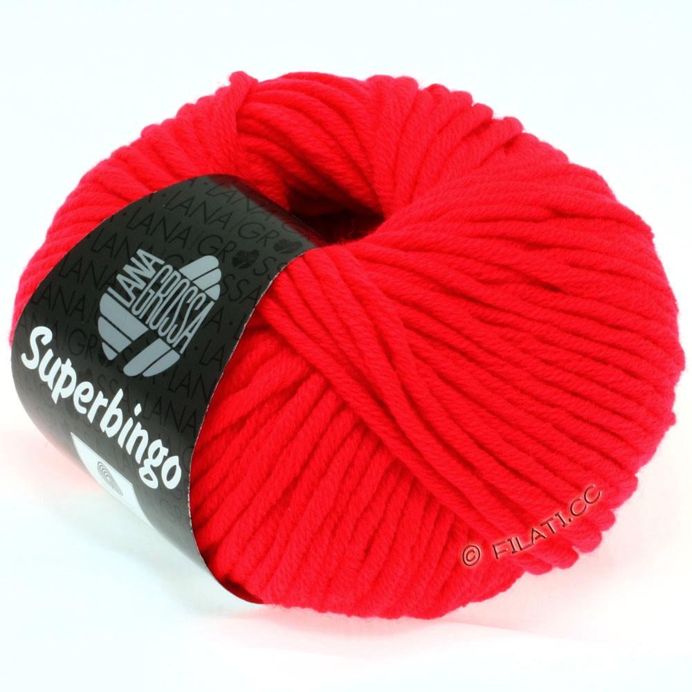 Lana Grossa SUPERBINGO   307-neon rød