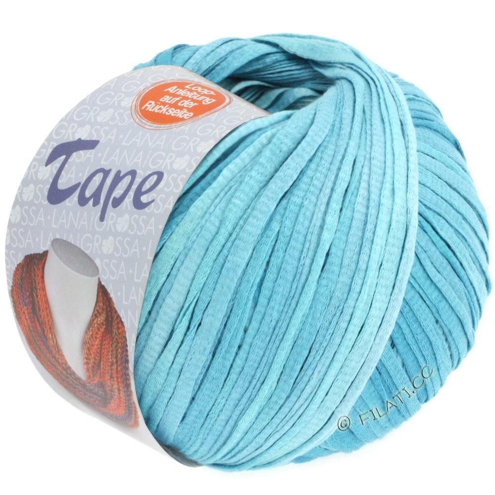 Lana Grossa TAPE (McWool) | 03-sartblå/azurblå
