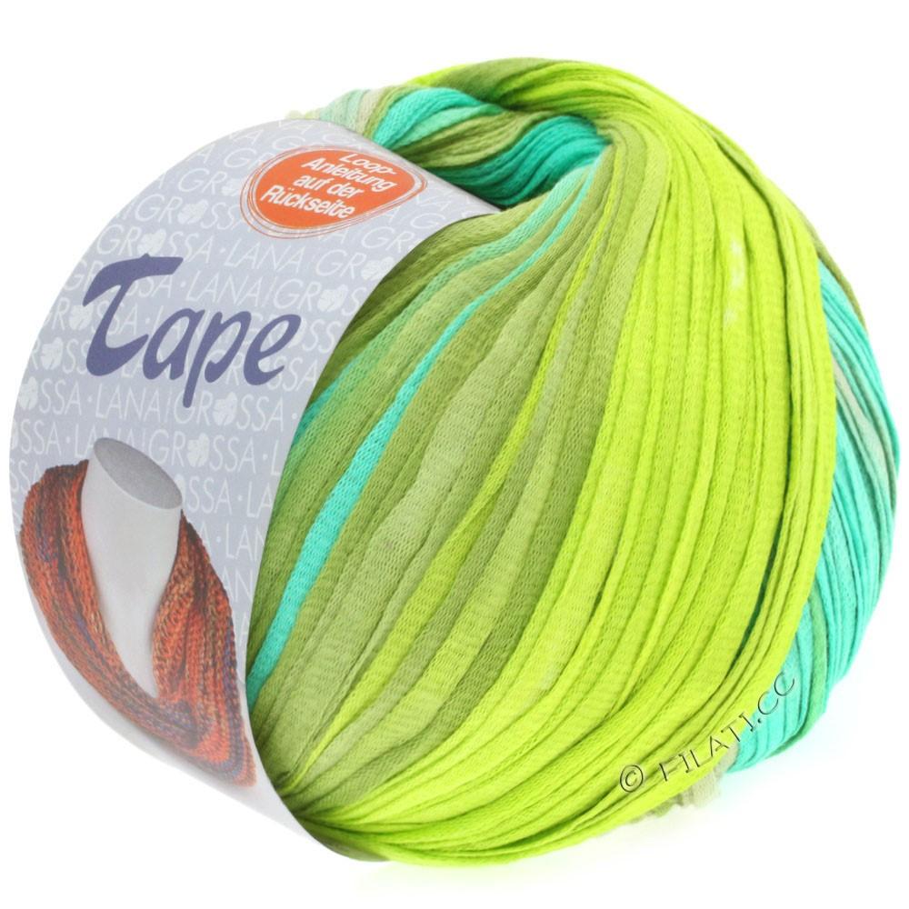 Lana Grossa TAPE (McWool) | 102-lysegrøn/lime