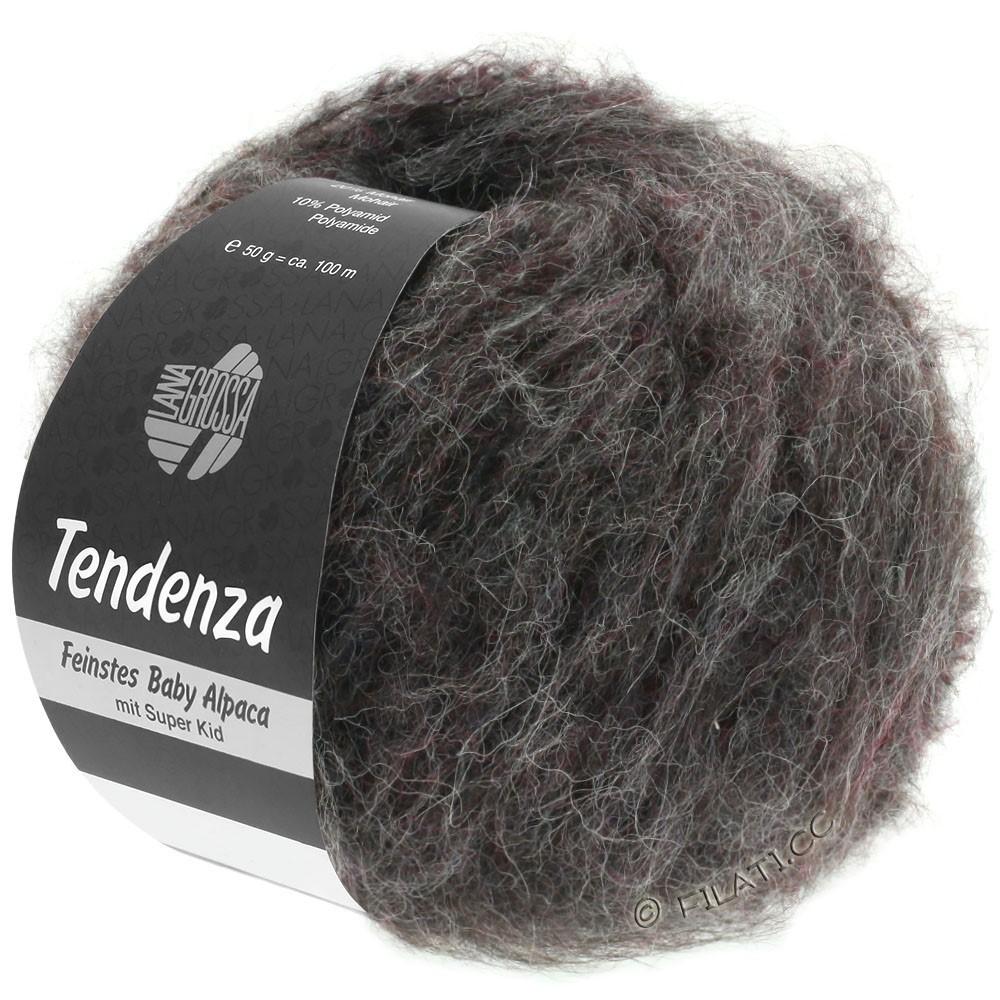 Lana Grossa TENDENZA | 004-antracit/brombær