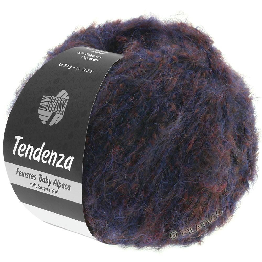 Lana Grossa TENDENZA | 005-natblå/brombær