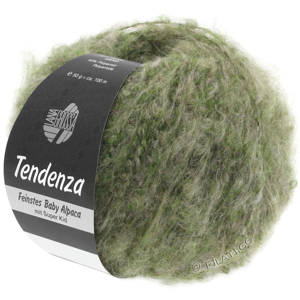 Lana Grossa TENDENZA | 007-grøn/beige