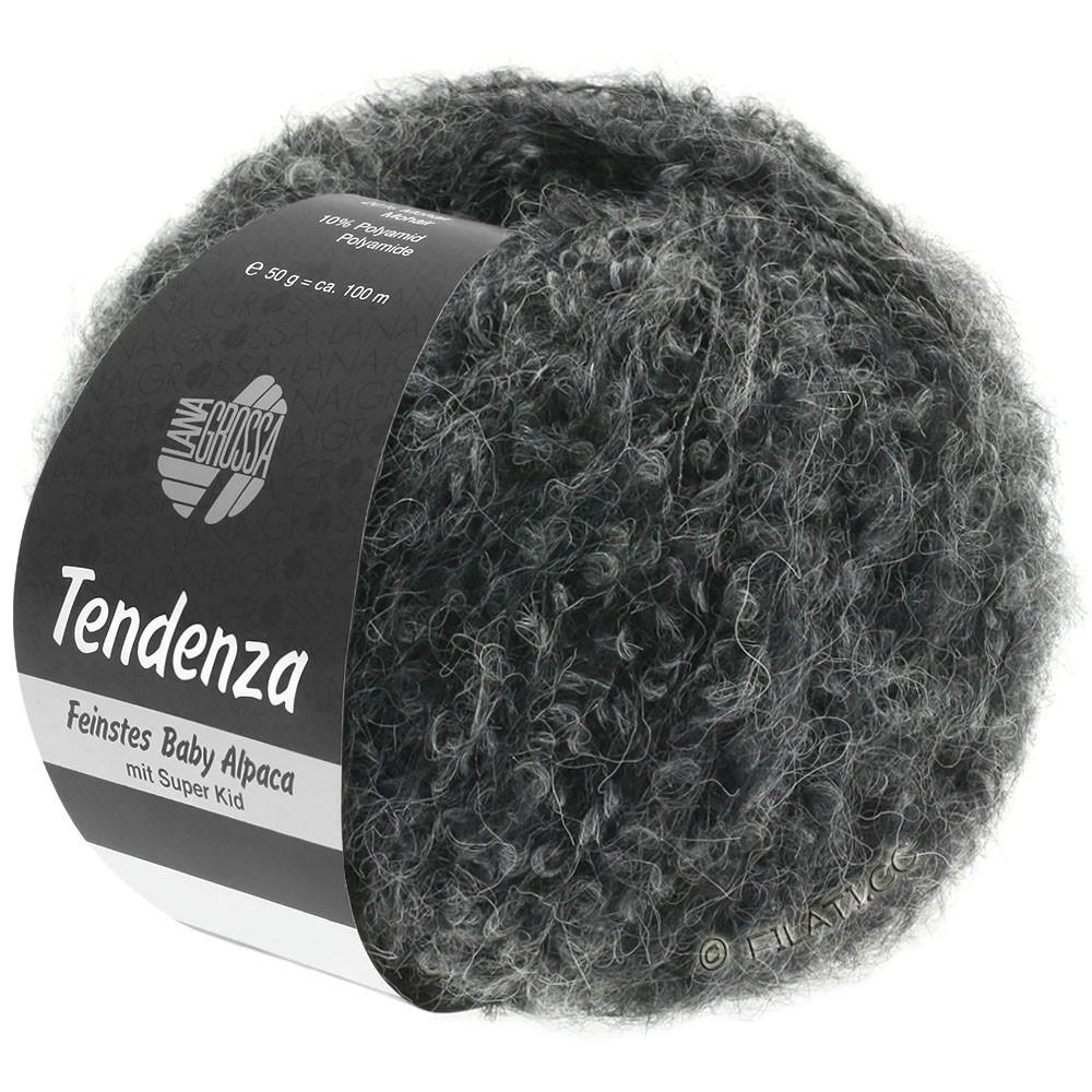 Lana Grossa TENDENZA | 010-sort/grå