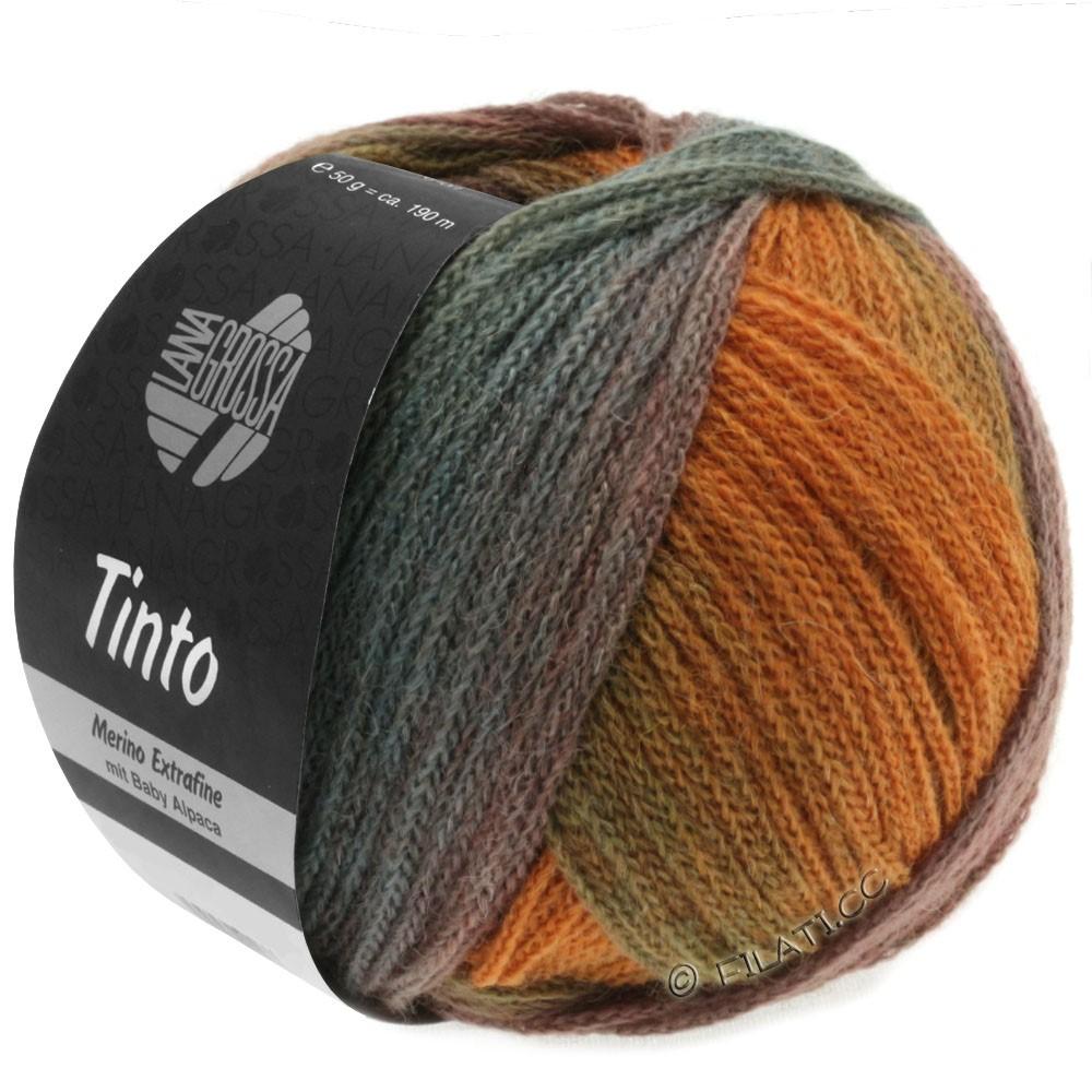 Lana Grossa TINTO | 03-petrol/ruste/grøn/turkis/oliven/kaki