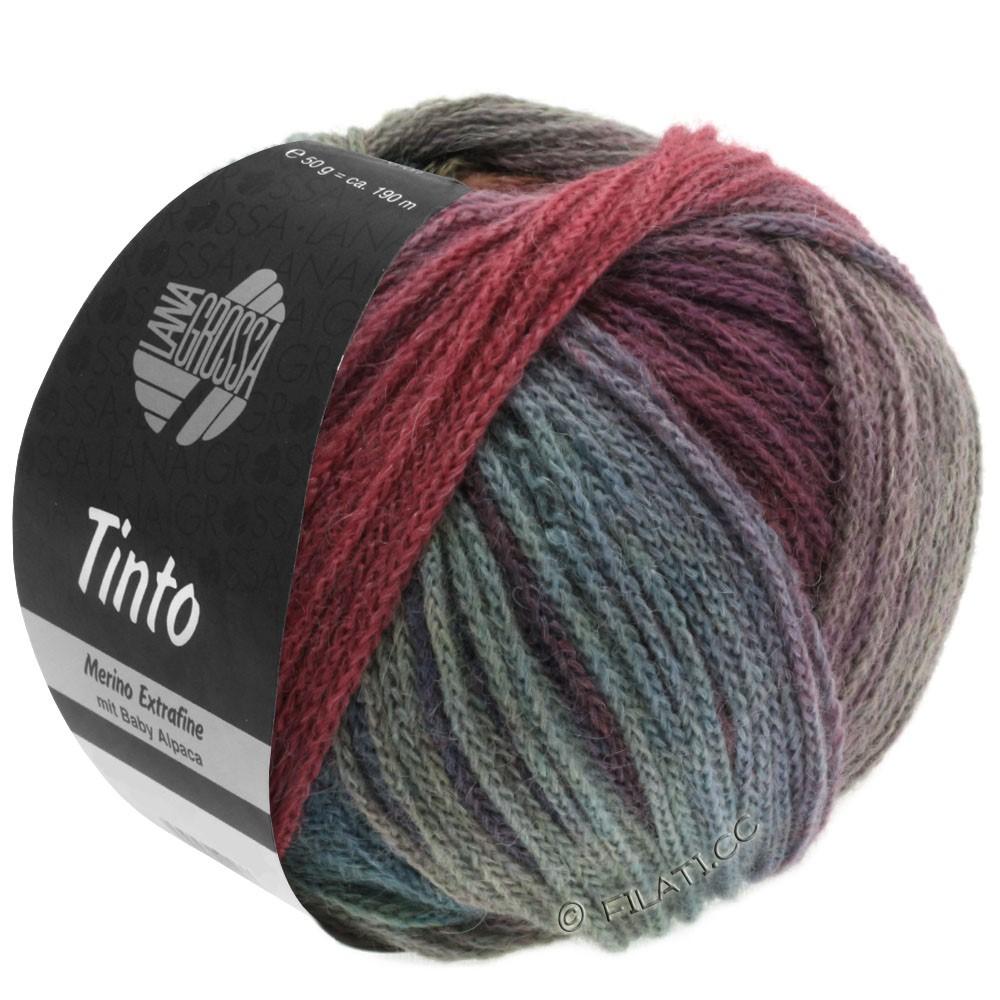 Lana Grossa TINTO | 05-rød/turkis/bær/mynte/petrol/mørkeblå