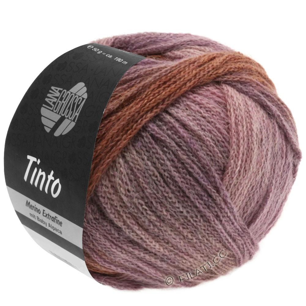Lana Grossa TINTO | 06-sand/rosa/lilla/chokoladebrun/violet