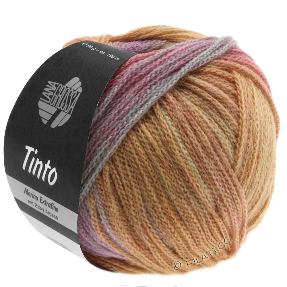 Lana Grossa TINTO | 07-sartgul/lakse/lyseturkis/lilla/beige