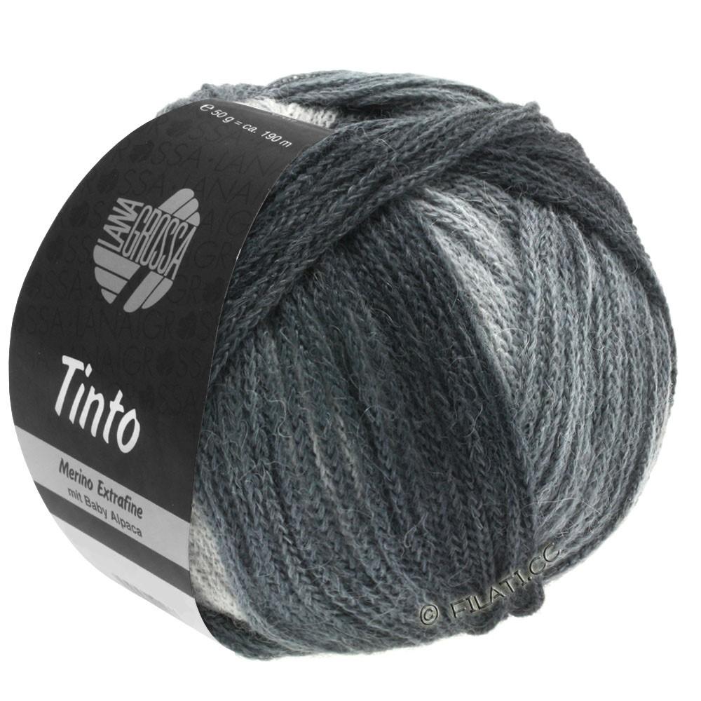 Lana Grossa TINTO | 11-lysegrå/gennemsnit grå/mørkegrå/antracit