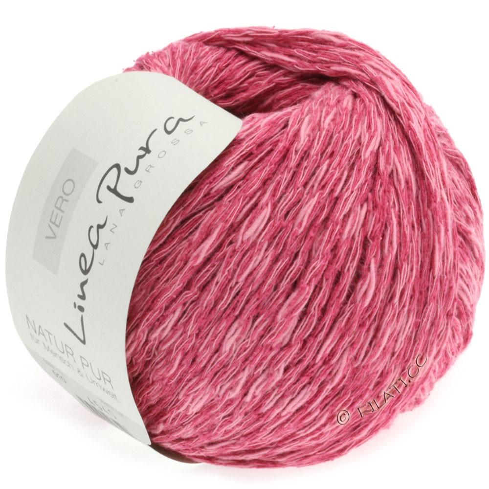 Lana Grossa VERO uni/print (Linea Pura) | 010-pink meleret