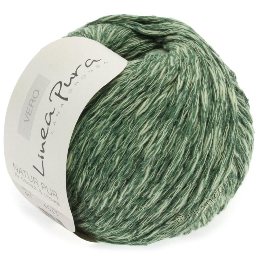 Lana Grossa VERO uni/print (Linea Pura) | 011-grågrøn meleret