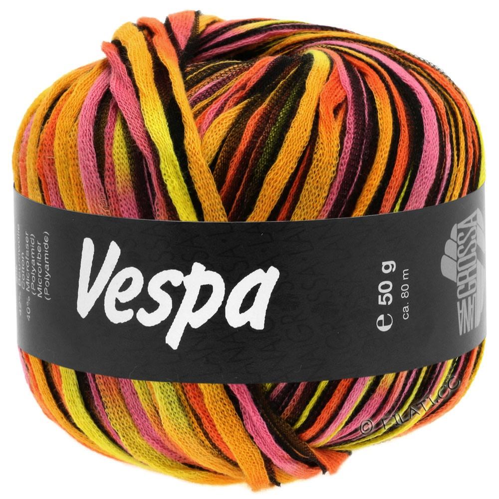 Lana Grossa VESPA | 101-gul/orange/rosa/sort
