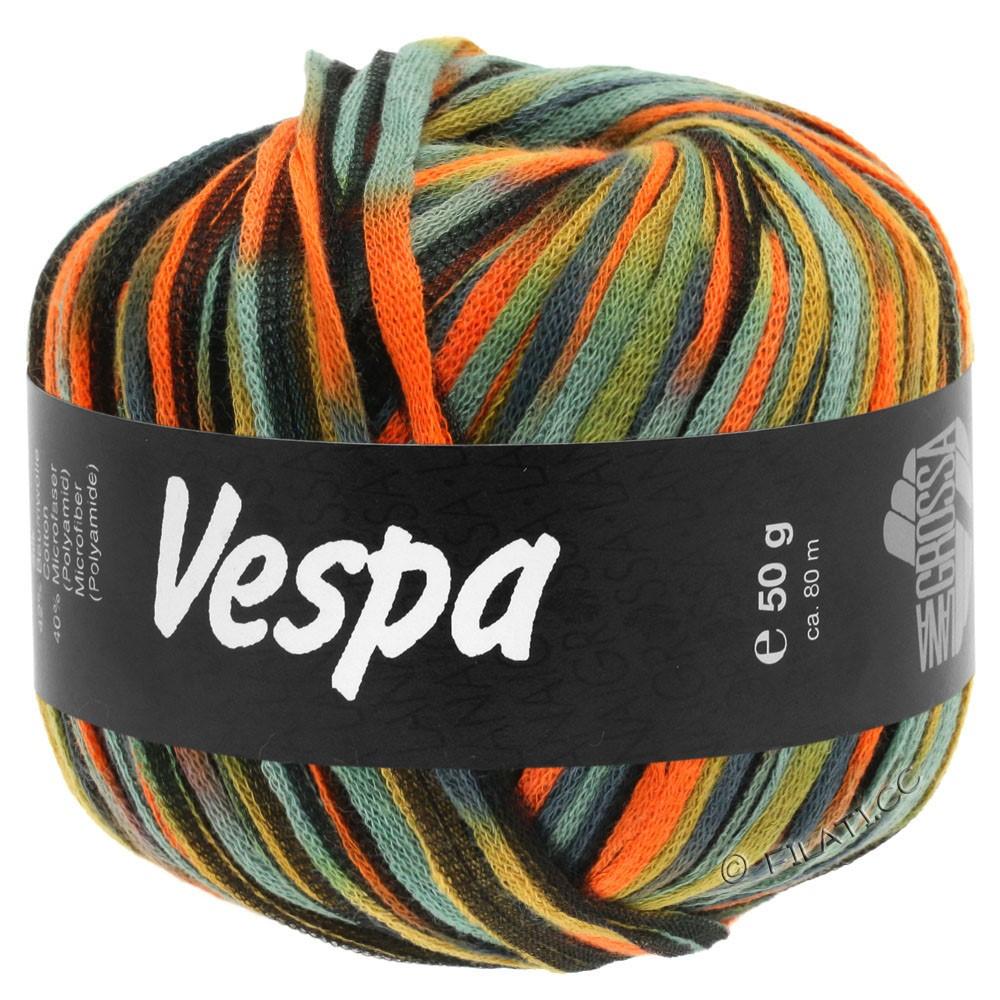 Lana Grossa VESPA | 103-orange/beige/blågrå/sort