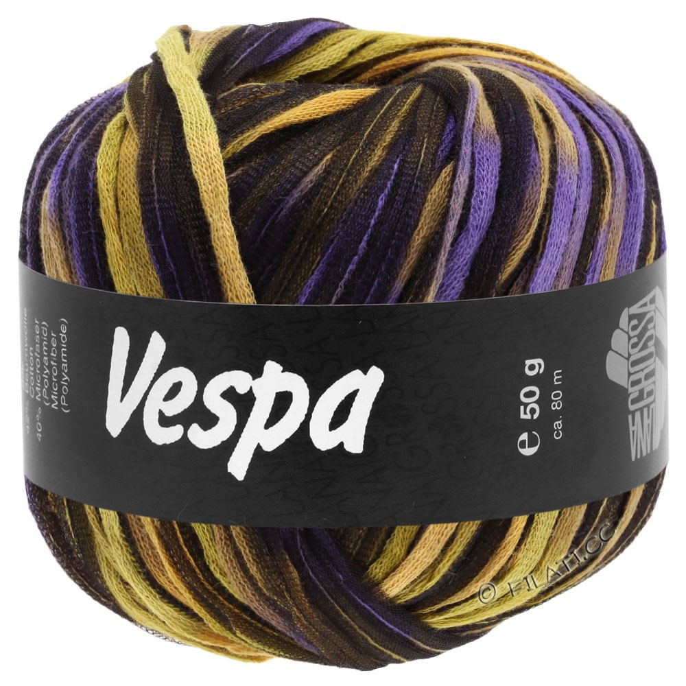 Lana Grossa VESPA | 106-beige/kamel/purpur/sort
