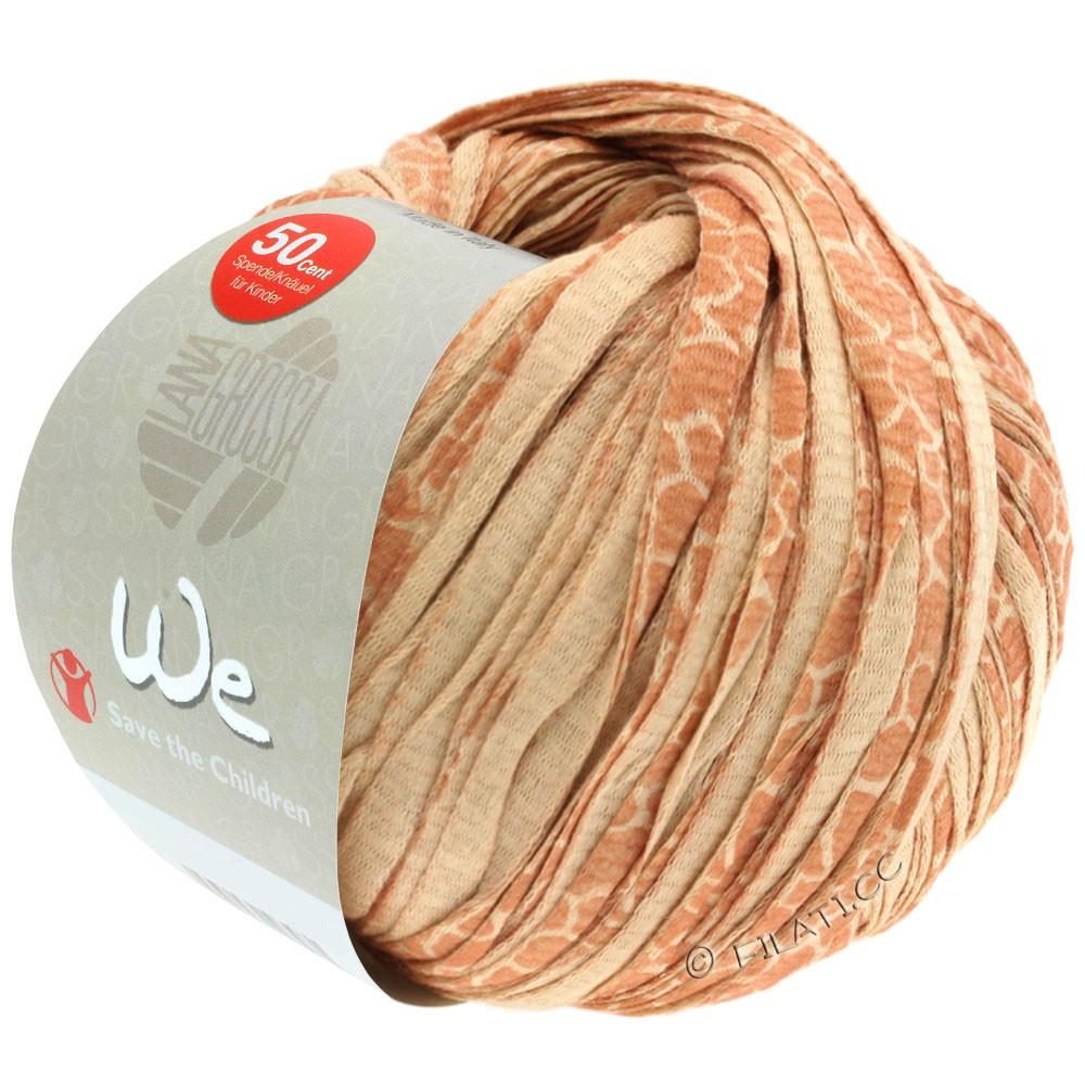 Lana Grossa WE | 204-karamel/kanel/mørkebrun plettet