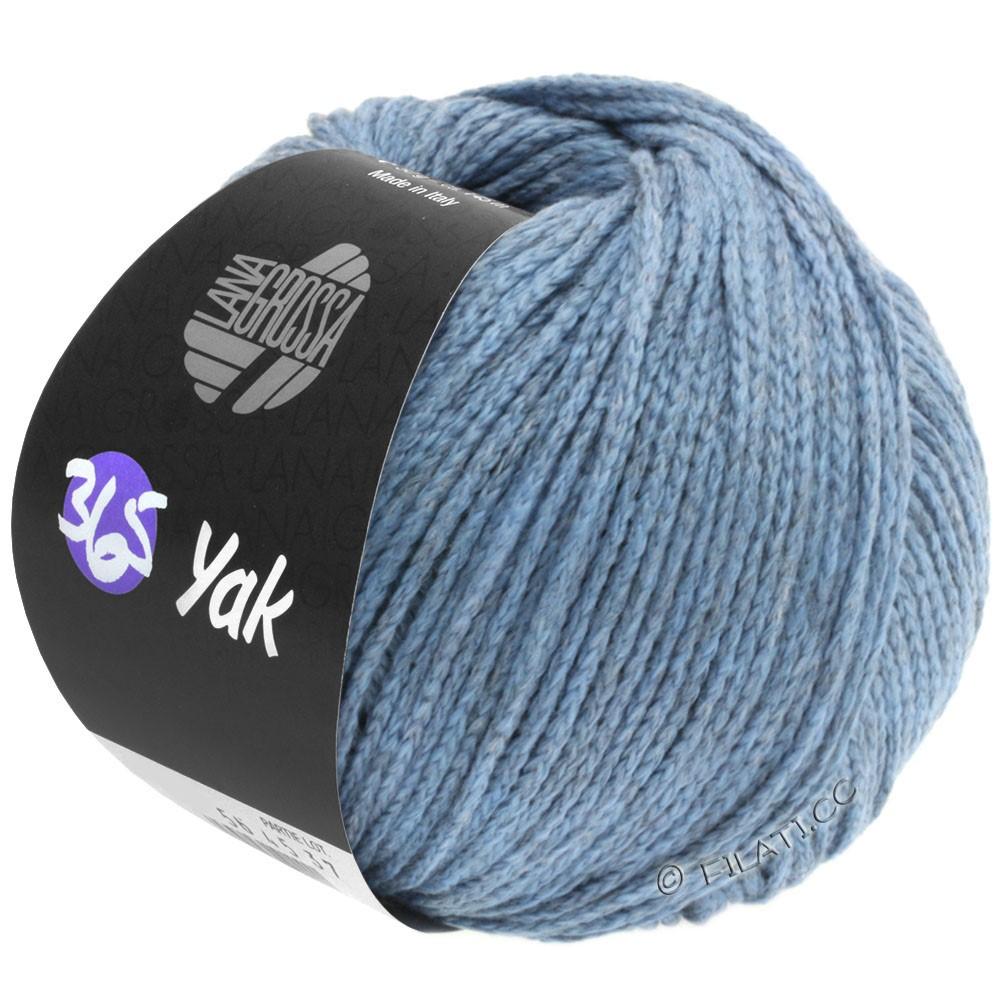 Lana Grossa 365 YAK | 10-jeans/grå