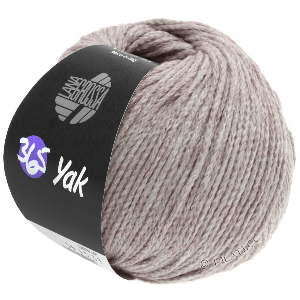 Lana Grossa 365 YAK | 18-lilla grå