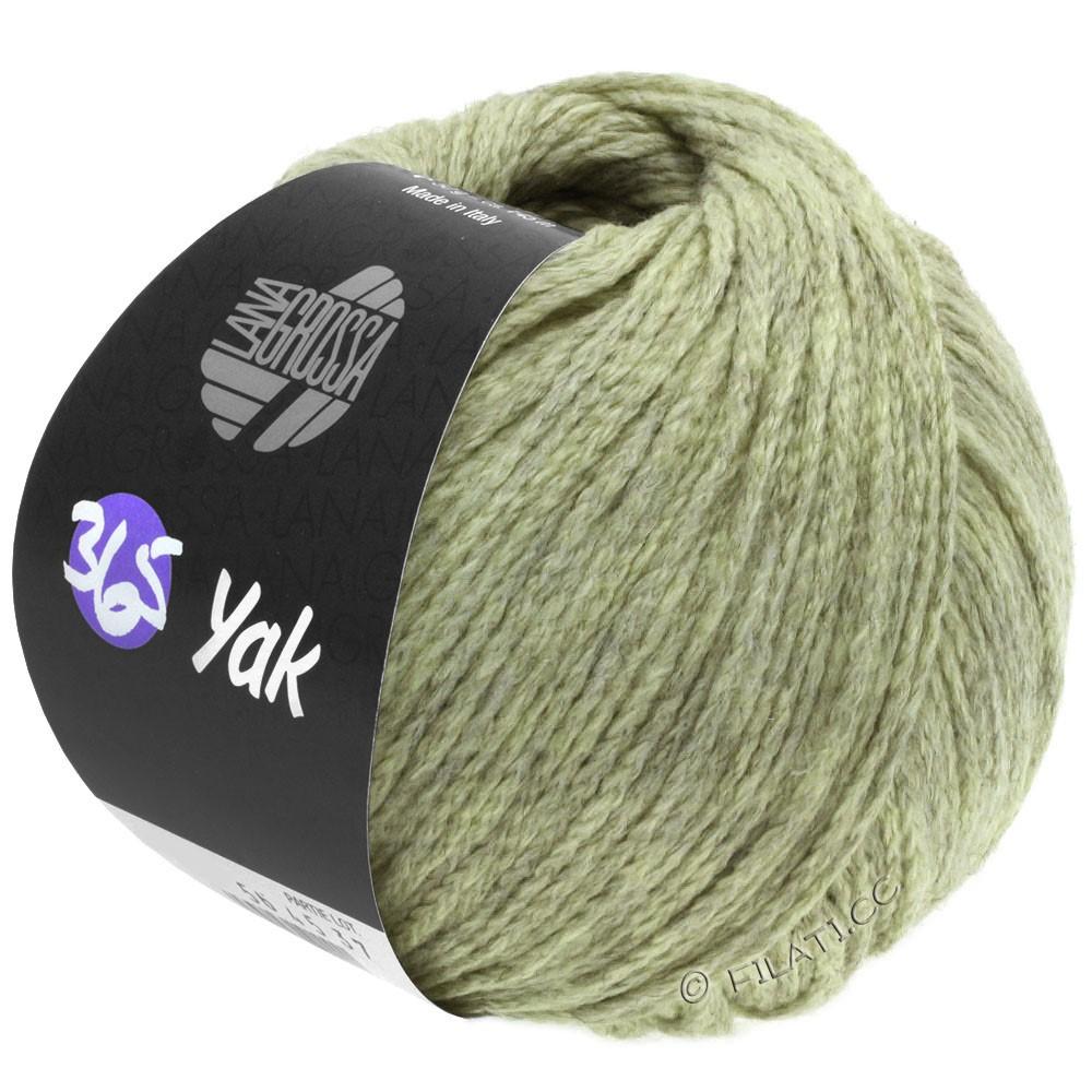 Lana Grossa 365 YAK | 19-sartgrøn/grå