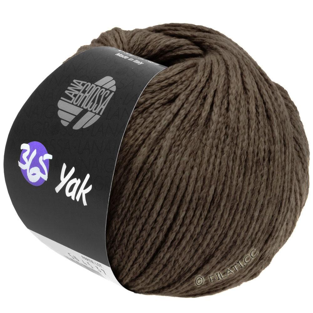 Lana Grossa 365 YAK | 28-mørkebrun