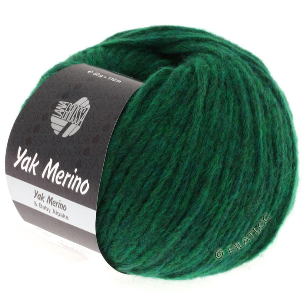 Lana Grossa YAK MERINO | 002-grøn meleret