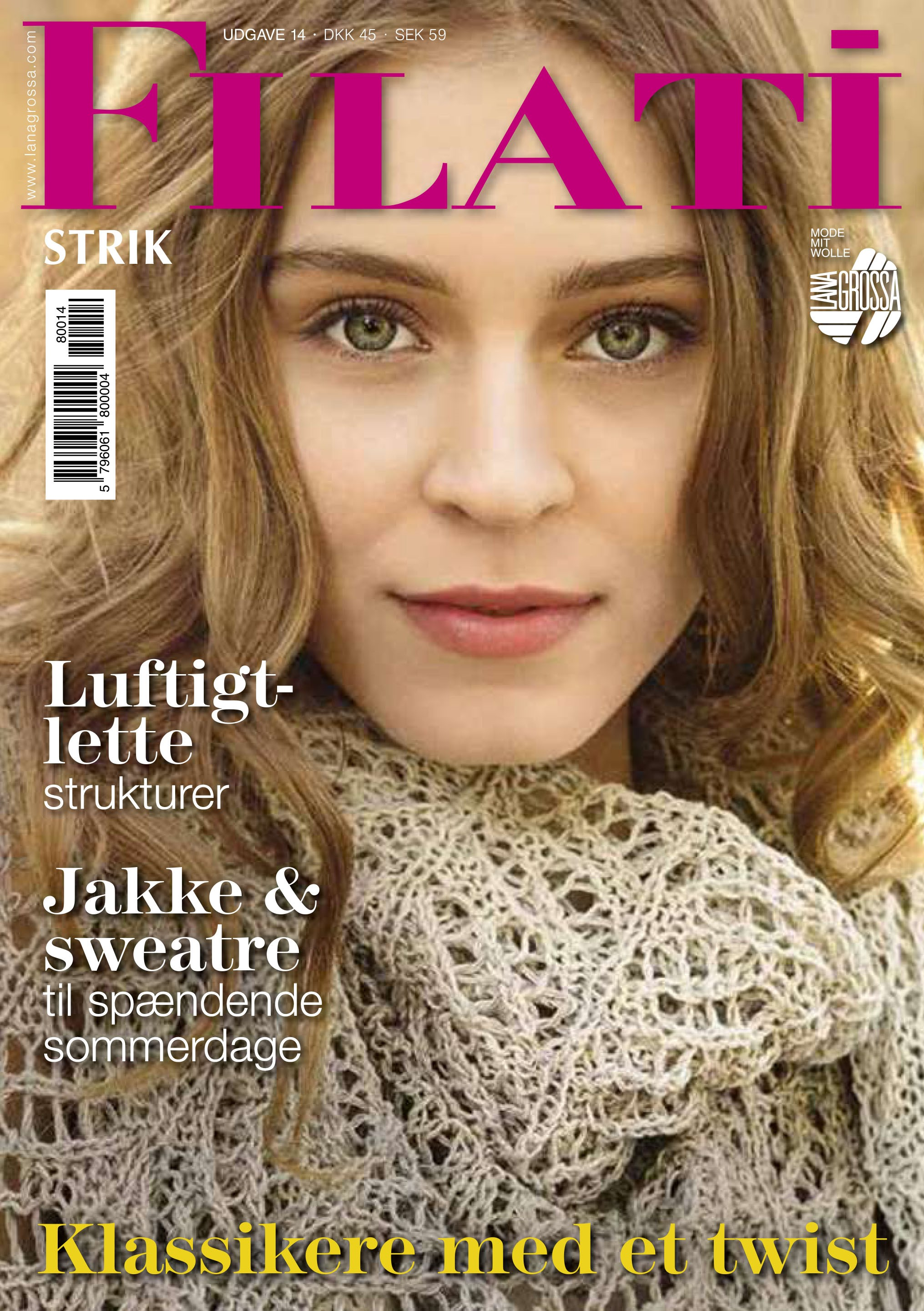 Lana Grossa FILATI Strik Udgave 14 (DK)