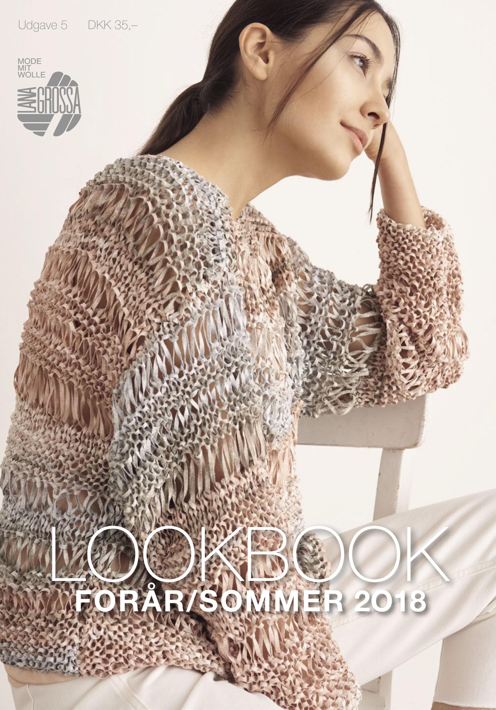 Lana Grossa Lookbook Udgave 5 - Forår/Sommer 2018 (DK)