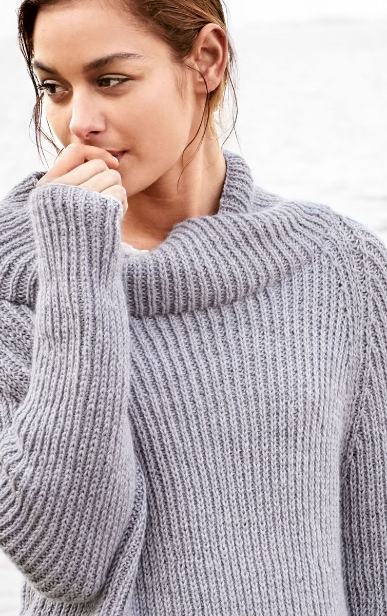 Lana Grossa RAGLANSWEATER Cool Wool Cashmere