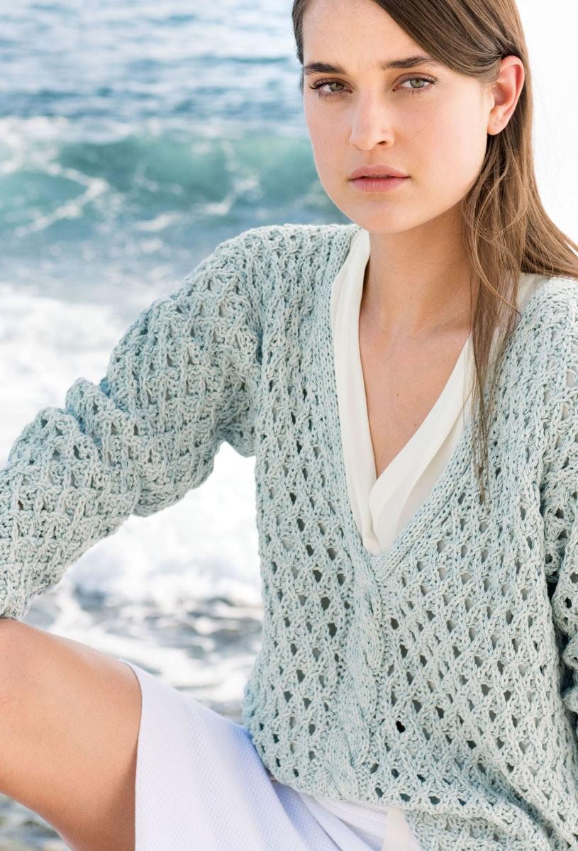 Lana Grossa PULLOVER Summerlace/Secondo