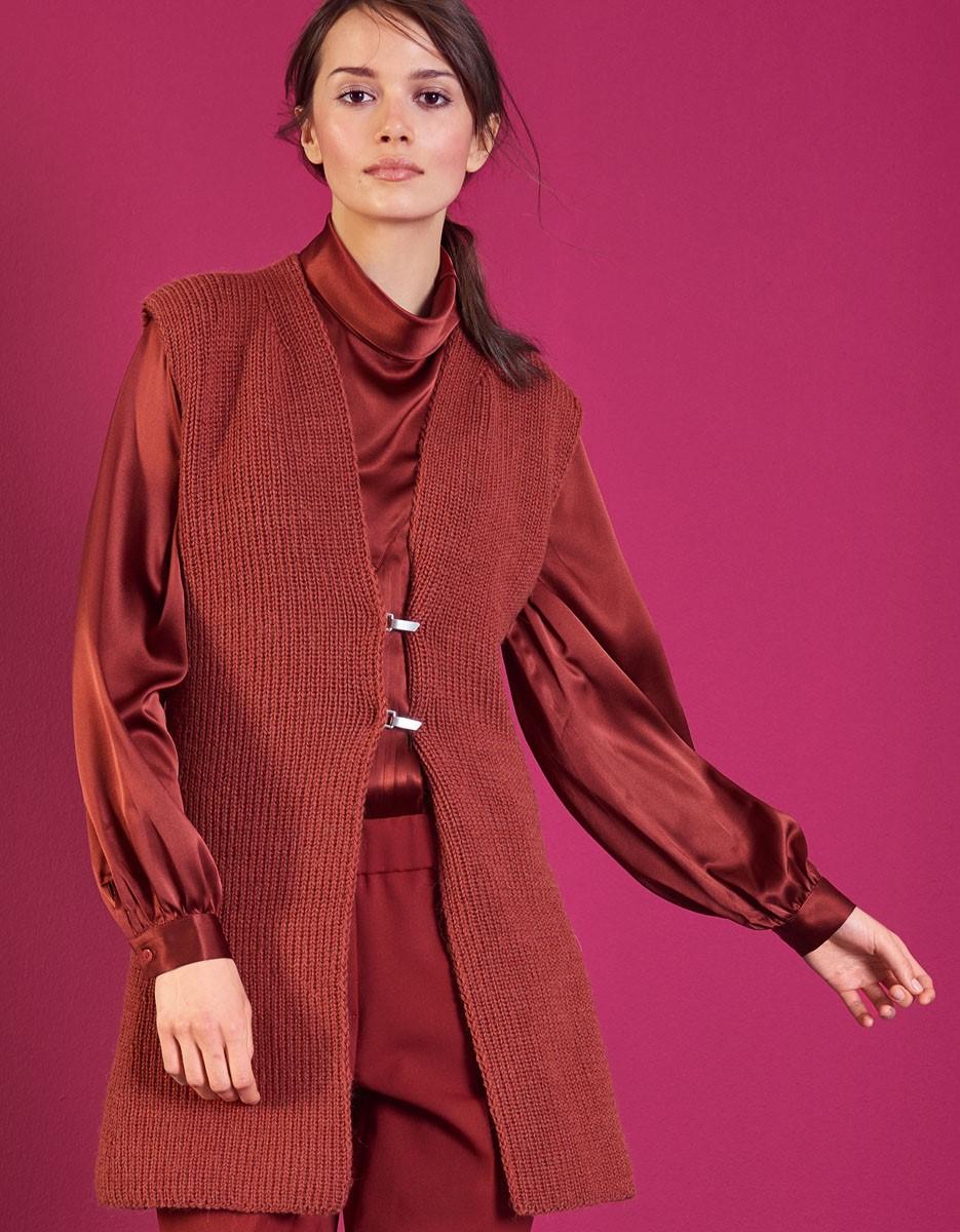 Lana Grossa LANG VEST Cool Wool Alpaca
