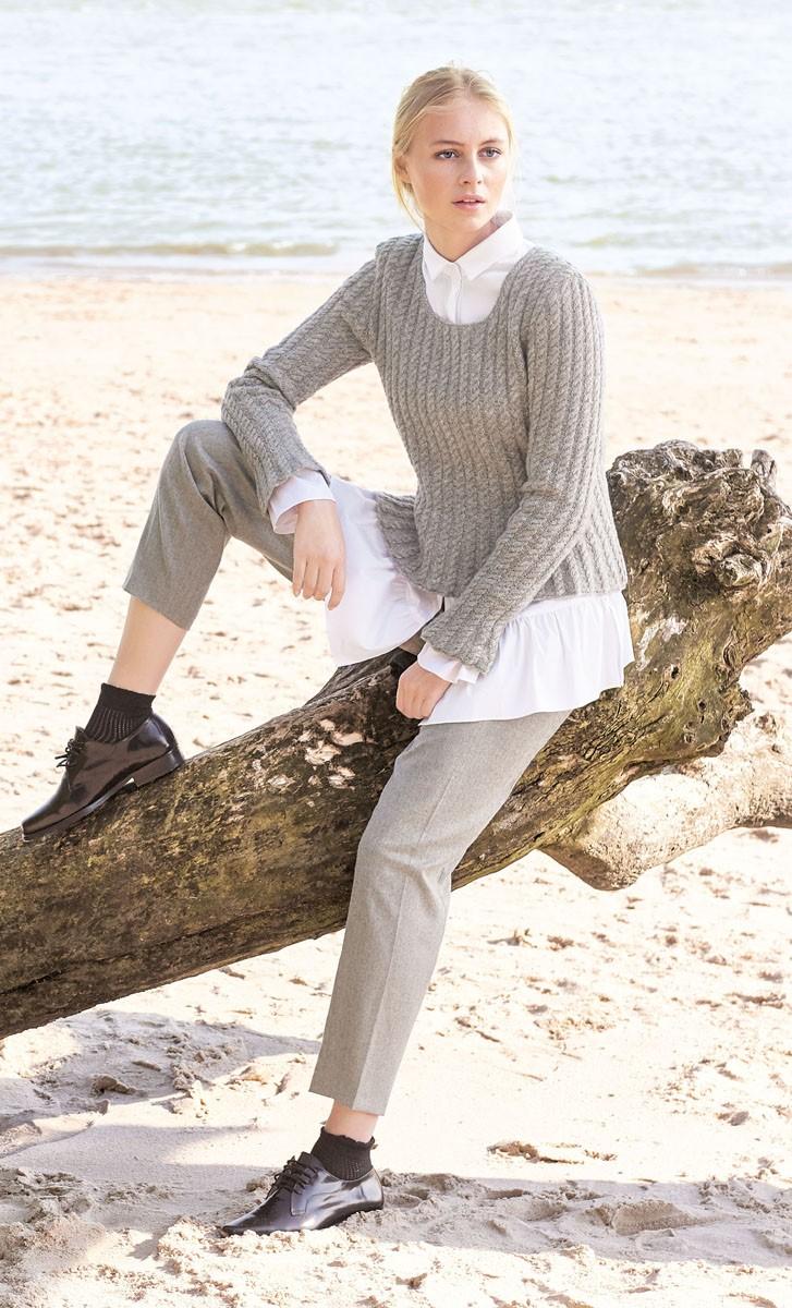 Lana Grossa SWEATER Cashmere 16 Fine