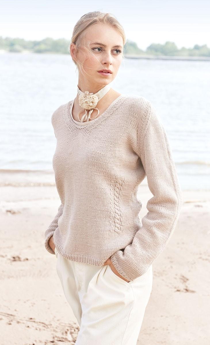 Lana Grossa PULLOVER Cool Wool Big
