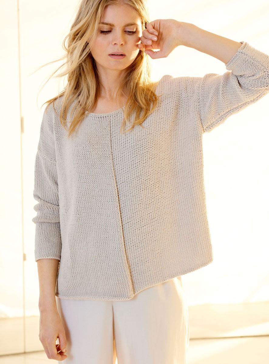 Lana Grossa PULLOVER Cool Cotton