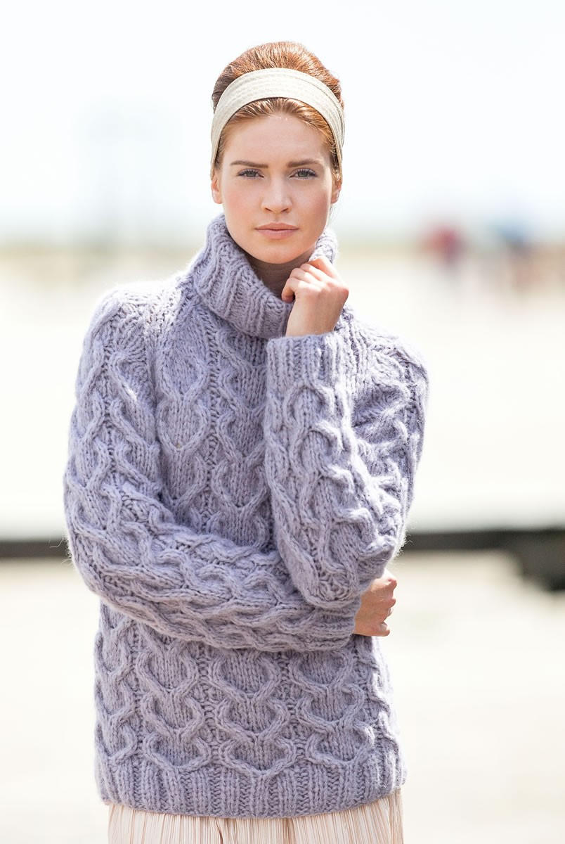 Lana Grossa RAGLANSWEATER Cloud