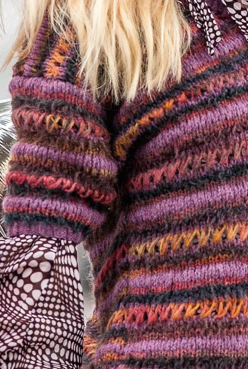 Lana Grossa SWEATER Alta Moda Cashmere 16/Emozione Degradé/Colupo