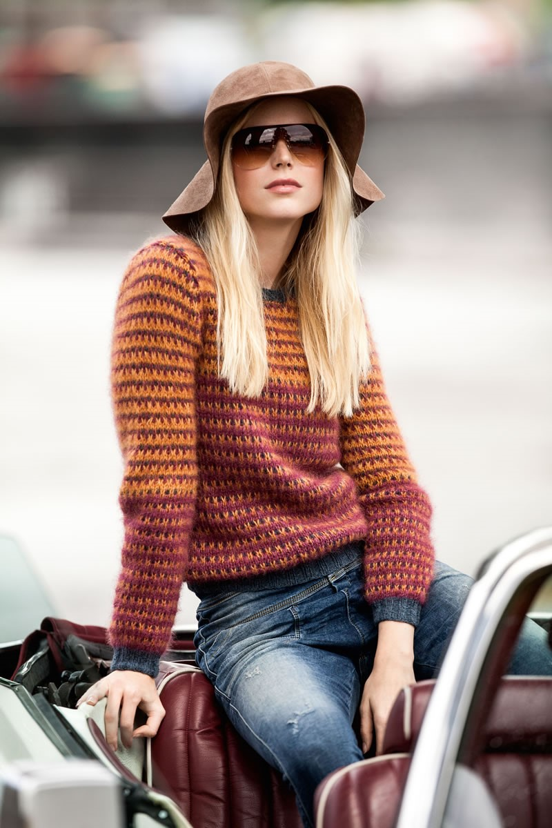 Lana Grossa SWEATER Cashmere 16 Fine/Silkhair