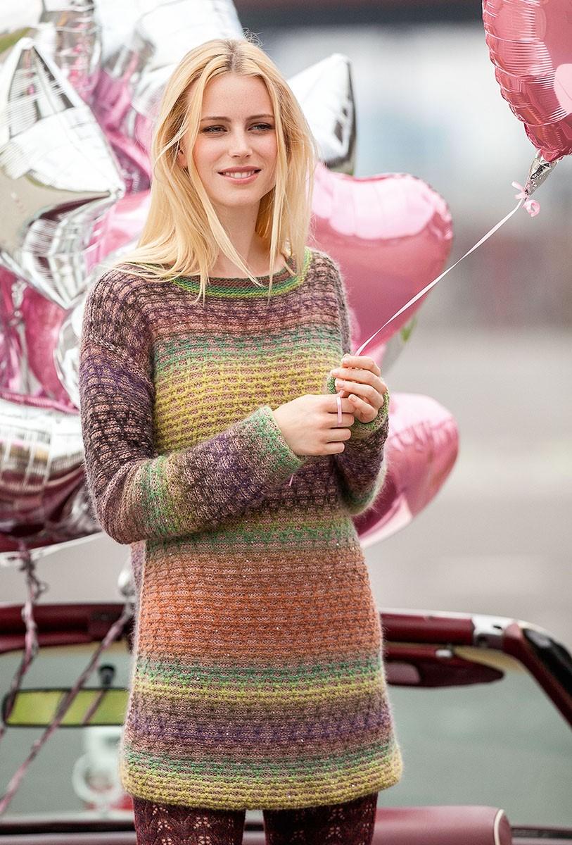 Lana Grossa SWEATER Cashmere 16 Fine/Silkhair Paillettes