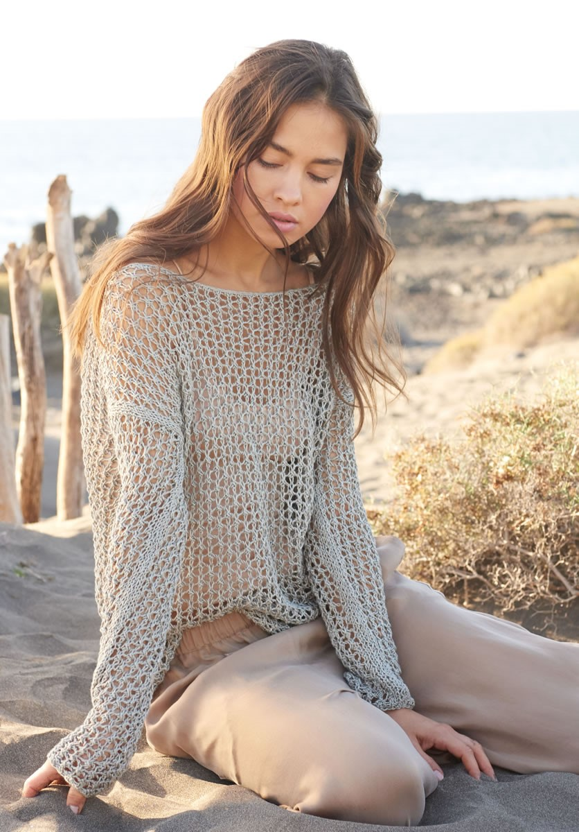 Lana Grossa SWEATER Portofino