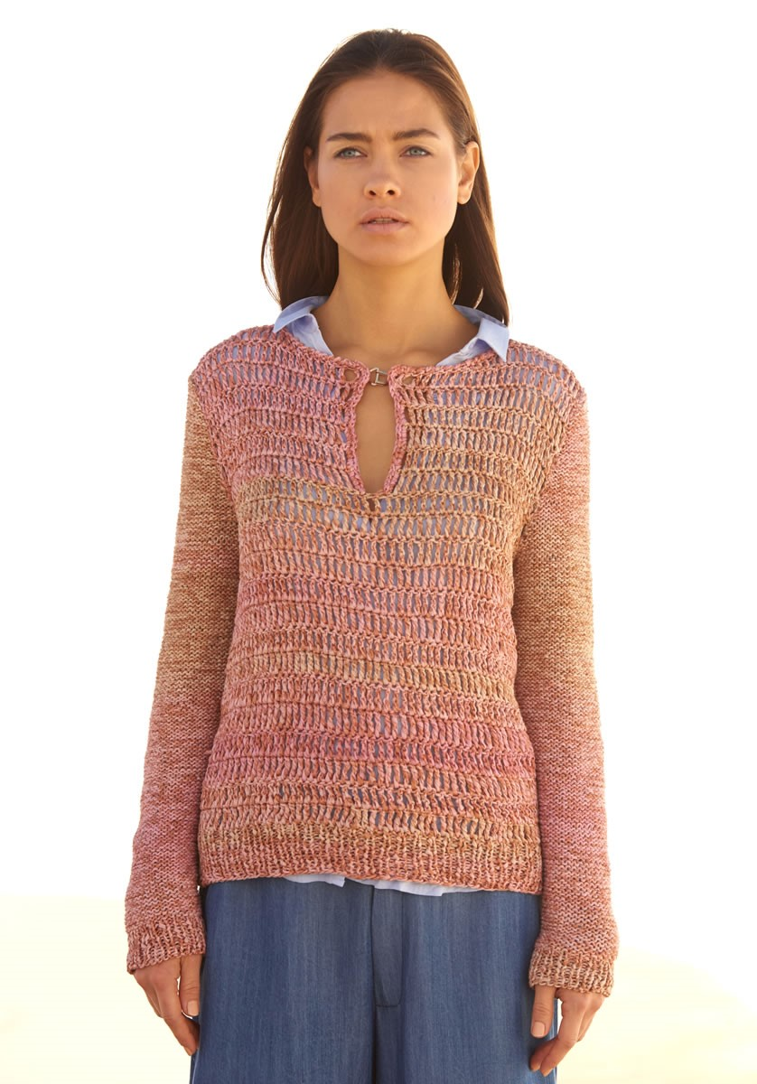 Lana Grossa SWEATER Roma Dégradé