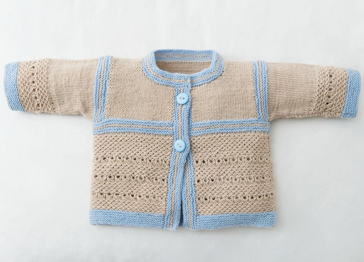 Lana Grossa JAKKE OG SKO Cool Wool Baby