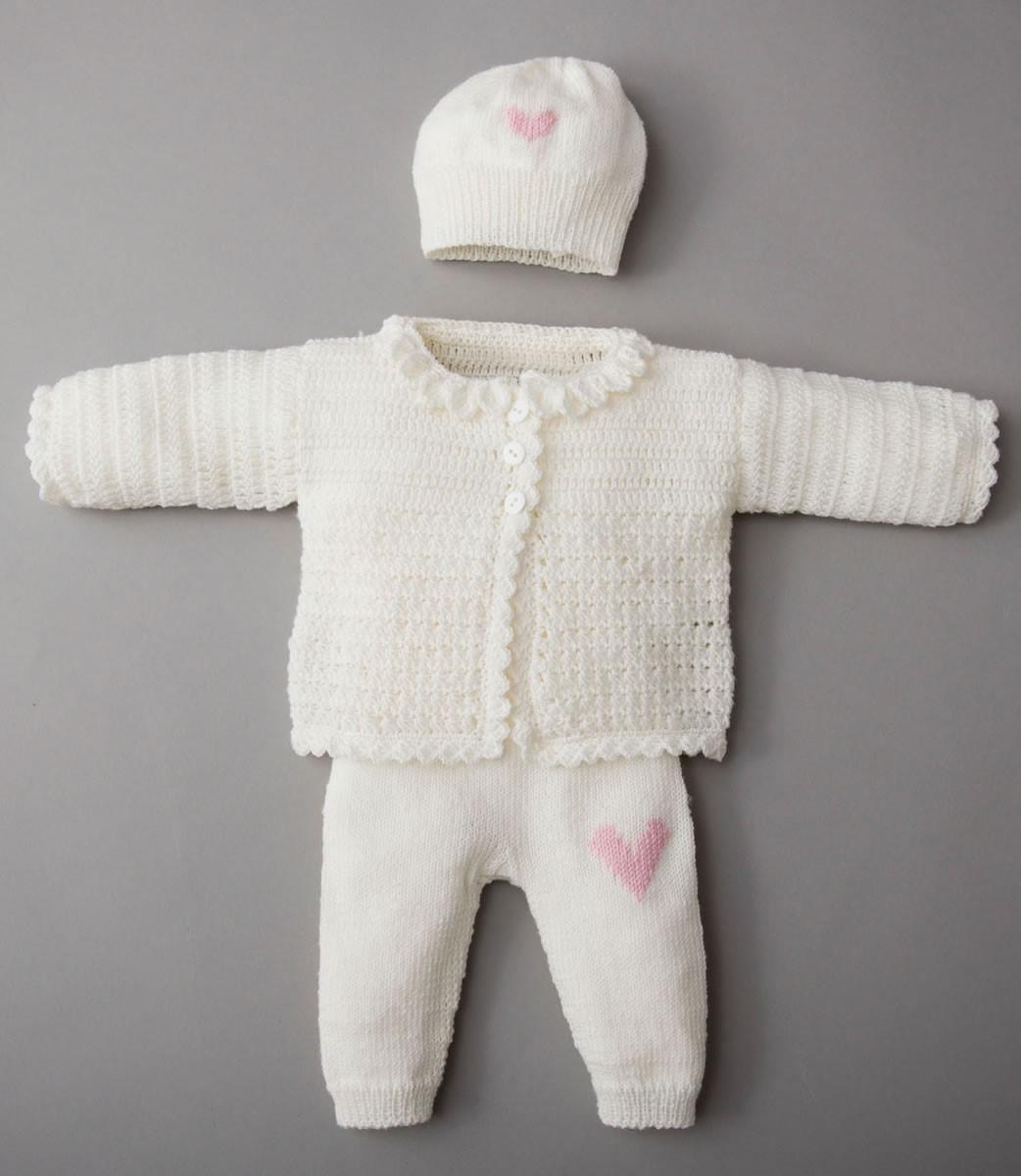 Lana Grossa JAKKE, BUKSER, HUE OG SKO Cool Wool Baby