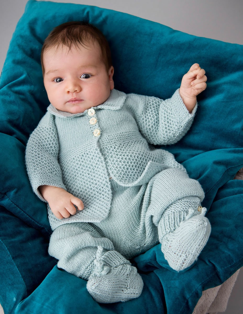 Lana Grossa JAKKE, BUKSER OG STRØMPER Cool Wool Baby