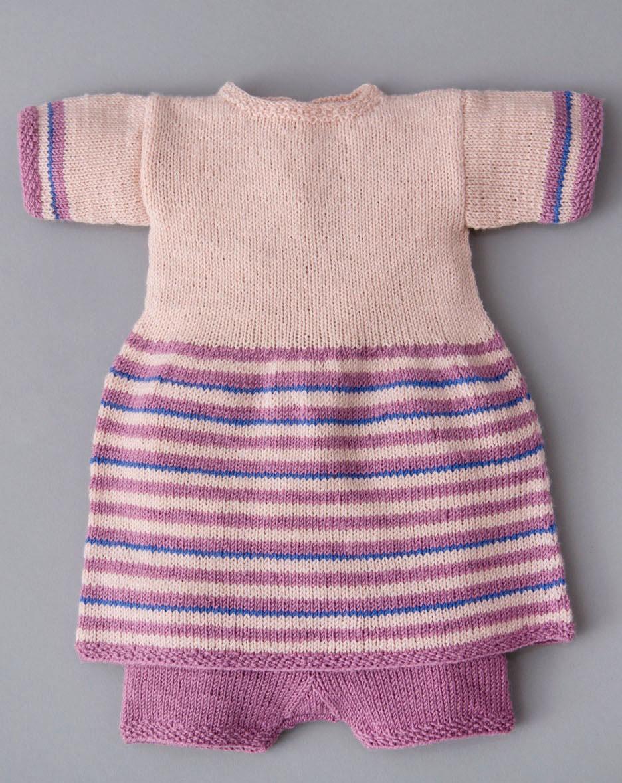 Lana Grossa TUNIKA OG BUKSER Cool Wool Baby