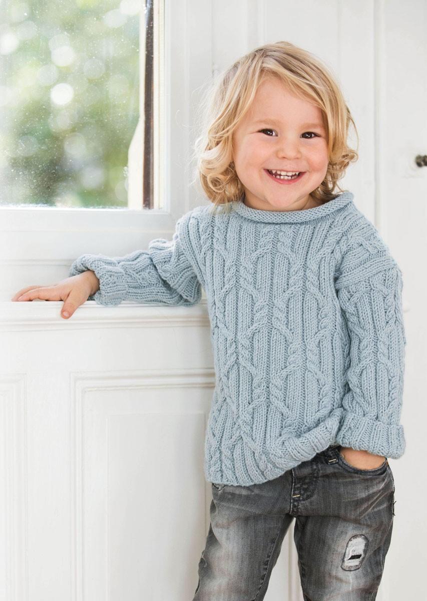 Lana Grossa SWEATER Cool Wool Big