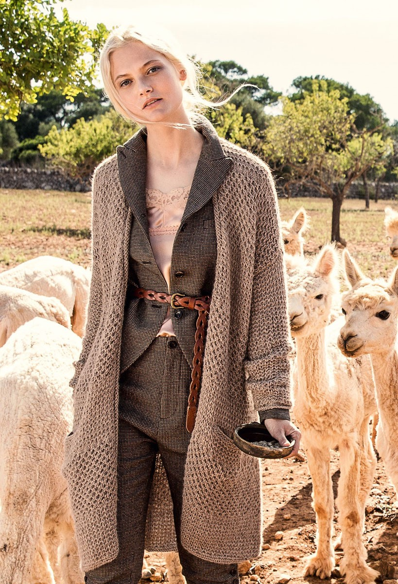 Lana Grossa FRAKKE Alpaca Peru 100